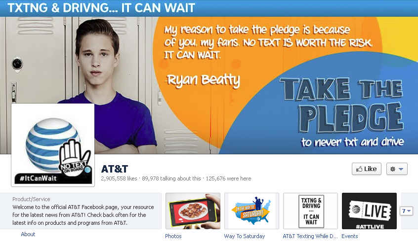 AT&T Facebook Page