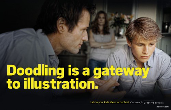 Creative Art School PSA Ads