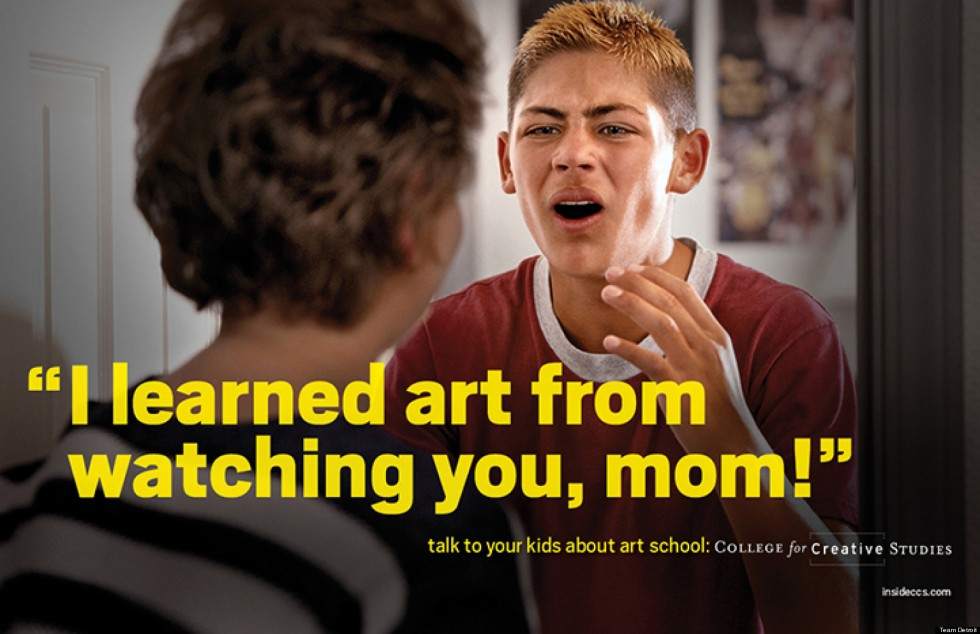 Creative Art School PSA Ads