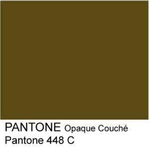 Pantone Color 448 C