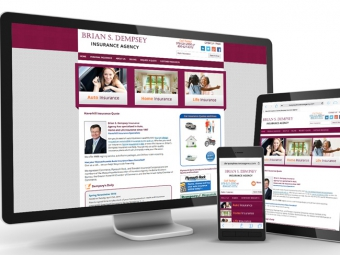 Dempsey Insurance – Website