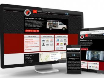 New England Van – Website