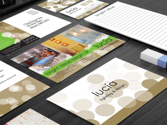 lucía lighting & design – Branding