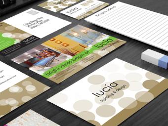 lucía lighting & design – Branding