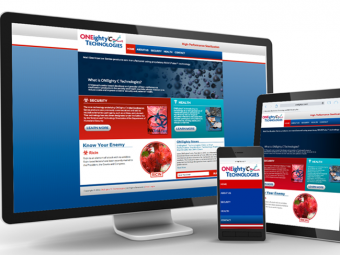 ONEightyC Technologies – Website
