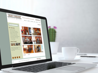 Our House Design + Build – Website