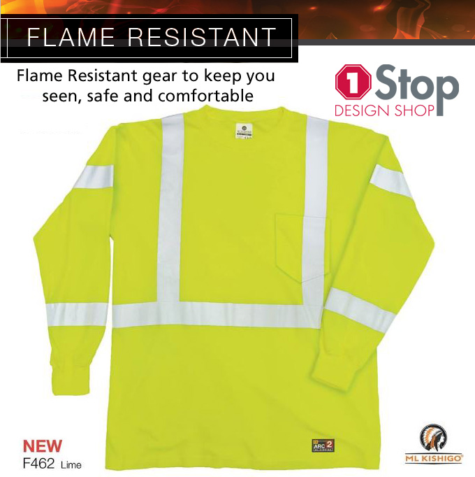 Fire Resistent Long Sleeve Shirt