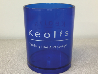 Keolis Commuter Rail – Plastic Cups
