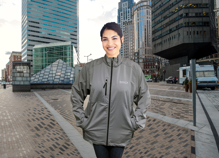 Wind Resistant Jackets for Keolis