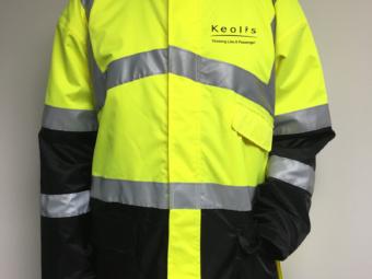 Keolis Commuter Rail – Safety Jackets