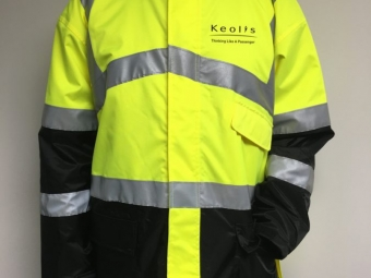 Keolis Commuter Rail – Safety Jackets