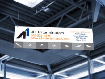 A1 Exterminators – Banner