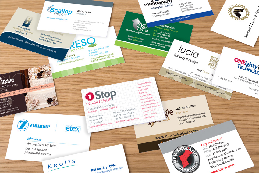 Business Cards - 1-Stop Design Shop