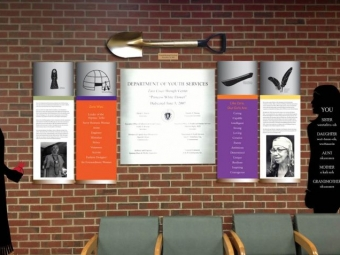 Zara Cisco Brough Center – Youth Wall Installation