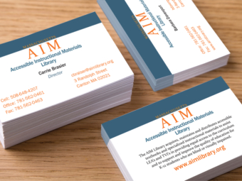 AIM Library – Business Cards