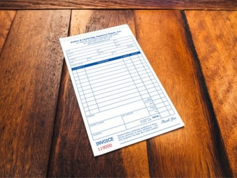 Boston & Cambridge Appliance Repair – NCR Invoice Booklets