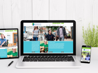 Cooperative for Human Services – Responsive Website