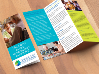 Cooperative for Human Services – Trifold Brochure