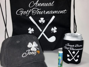 Joey Brier Annual Golf Tournament – Promotional Items