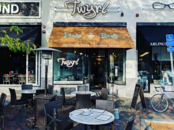 Twyrl Pasta Bistro – Restaurant Sign and Awning