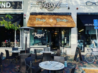 Twyrl Pasta Bistro – Restaurant Sign and Awning
