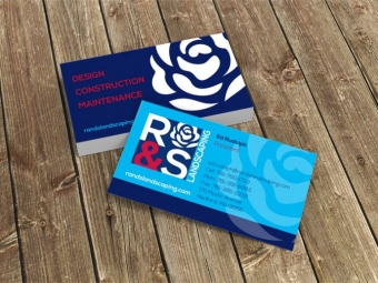 R&S Landscaping – Business Cards
