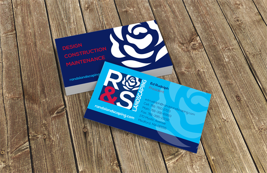 R&S business cards