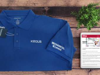 Keolis Commuter Rail – Embroidered Polo Shirts