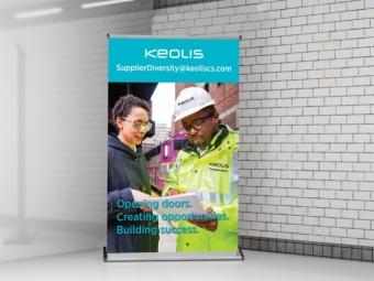 Keolis Commuter Services – Bannerstand