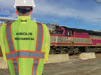 Keolis Commuter Rail – Safety Vests