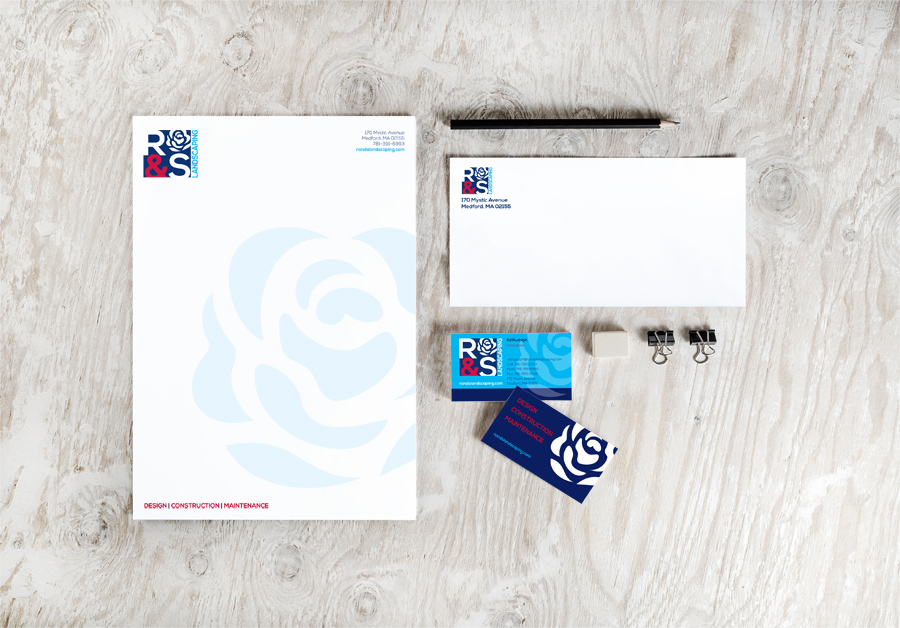 r&s collateral package branding identity