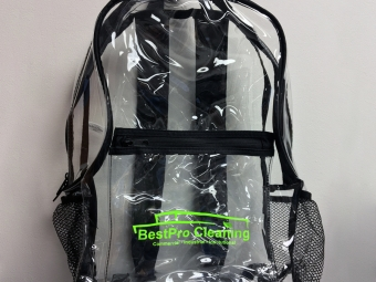 Best Pro Cleaning – Clear Backpacks